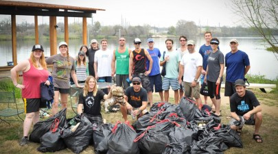Austin Trash Cleanup with Linda Mccoy Schreiver