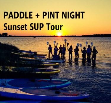 Paddle + Pint SUP Tour