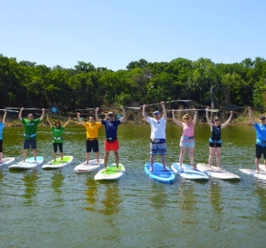 Paddleboarding Classes and Rentals on DFW Lakes