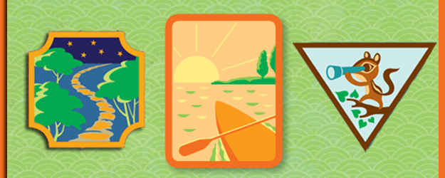 Girl Scouts Paddling and Outdoor Adventure Badges