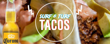 Surf & Turf Tacos from Peace Burger in Grapevine