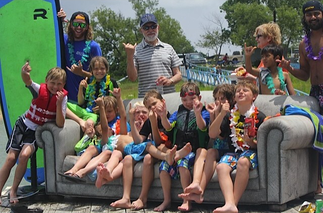 Kids birthday parties with DFW Surf