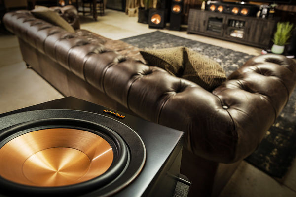 Klipsch Reference Premiere RP-500SA in a living room