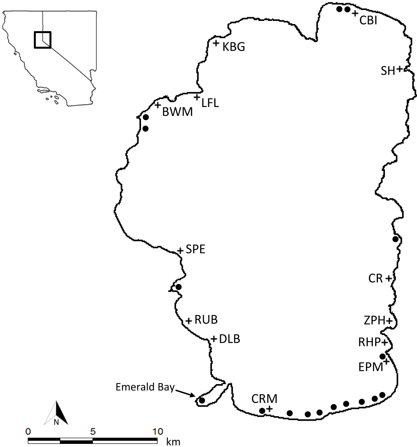 Estimating Relative Risk Of Within Lake Aquatic Plant