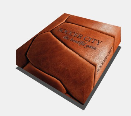 Caja de Soccer City: the beautiful game