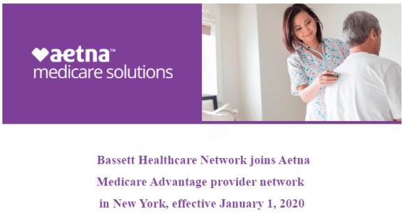 Bassett Healthcare Network joins Aetna Medicare Advantage provider network