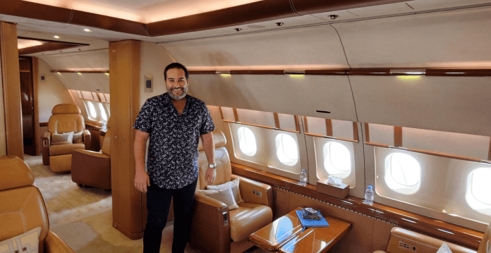 Chartering a VIP Airliner