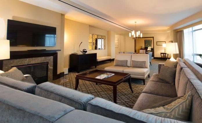 InterContinental Boston Hotel Suite