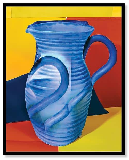 Blue Pitcher by Daniel Gordon