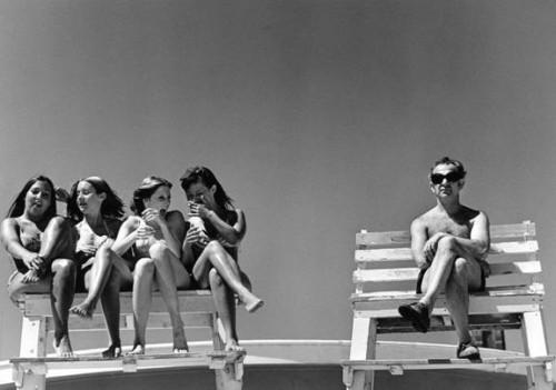 Lifeguard's Dream, Jones Beach, 1972 by Joseph Szabo