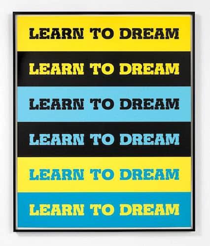 Learn to Dream by John Baldessari