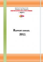 DGDP_RAPPORT ANNUEL_2011