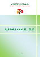 DGDP_RAPPORT ANNUEL_2013