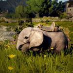 Guía de la montura elefante en miniatura