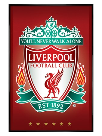 Club Crest, Liverpool Football Club Poster - PopArtUK