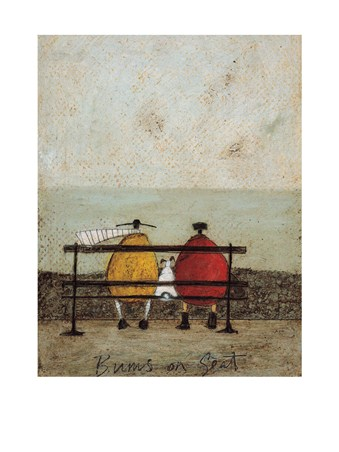 Bums On Seat Sam Toft Print Buy Online