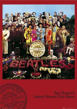 Sgt Peppers Lonely Hearts Club Band Album Cover The