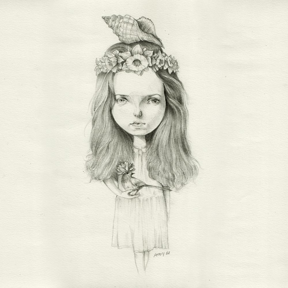 Roby-Dwi-Antono-Birdy-Pencil-on-paper-27.5-x-27.5-cm-2012