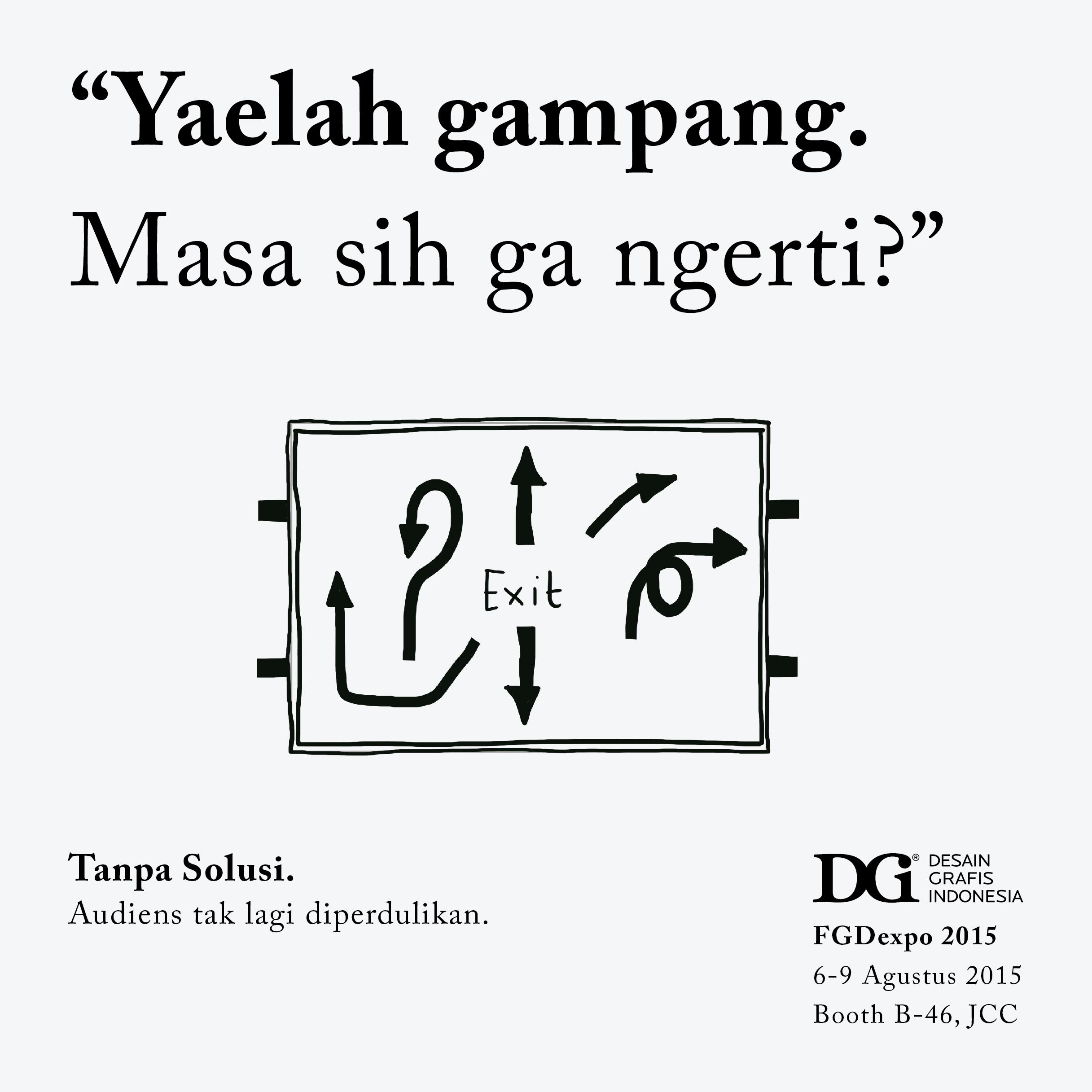Rangkaian Poster Kampanye