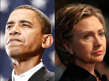 Obama / Clinton