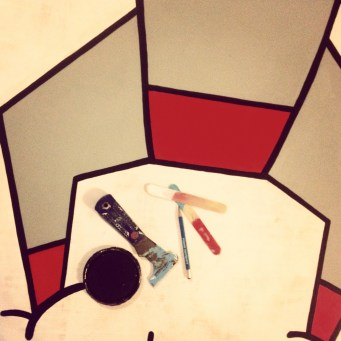 Painting the rocket