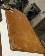 Secretary Table top, pre worked
