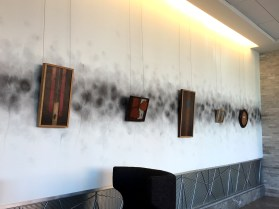 """Absolutes"" by Daric Gill displayed at Hilton Downtown Columbus Atrium Lobby"