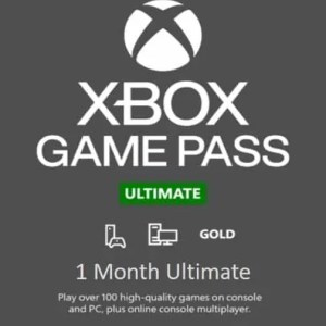 Xbox Game Pass Ultimate 1 Month