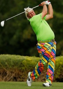 John Daly - known for his long drives, not his solid putting
