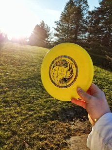 element discs uranium disc golf midrange