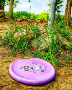 Frisbee golf putting advice