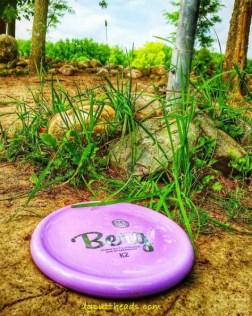 Frisbee golf putting advice