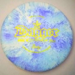 shaving cream dye disc golf dagger