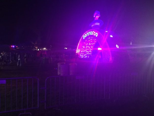 The entrance to Bonnaroo