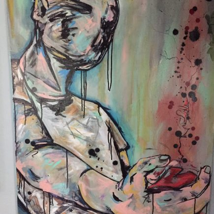 stephanie prosser graphic artist illustrator commission painting empowering