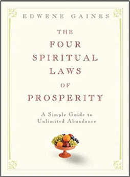 the four spiritual laws of prosperity Edwene Gaines my 2020 reading list