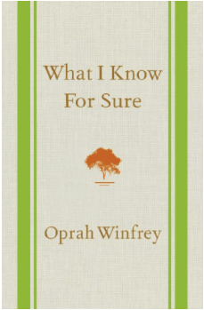 what I know for sure Oprah Winfrey d grant smith my 2020 reading list