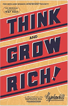 think and grow rich Napoleon hill my 2020 reading list