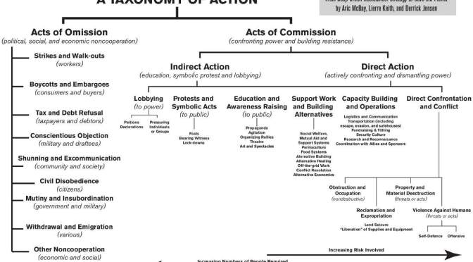 taxonomy of action dgr deep green resistance