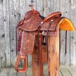 Pate saddle