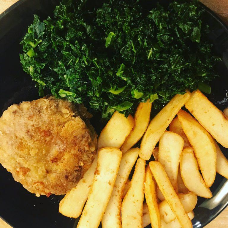 No Bun, No Problem – Fried Cheeseburger Recipe
