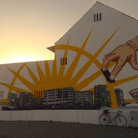 o ciclismo e a arte urbana