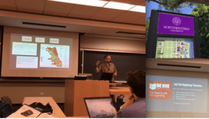 Robin Burke presents at Northwestern University