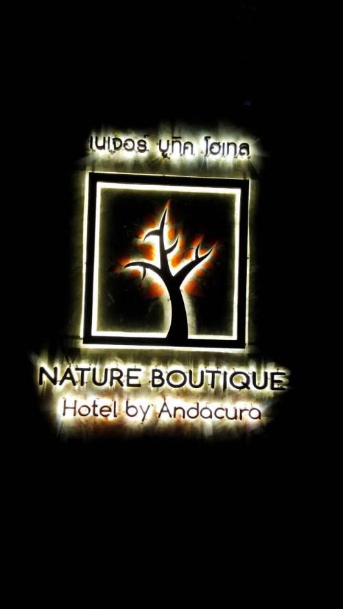 ป้ายไฟออกหลัง #ป้ายโรงแรม #NATUREBOUTIQE #เนเจอร์บูทิคโฮเทล #ป้ายวิภาวดี