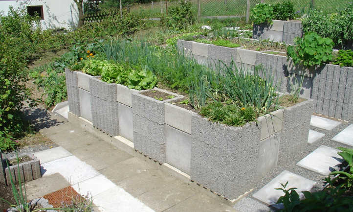 raised bed on concrete yes or no