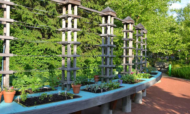 Raised Bed Trellis Ideas For Saving Space