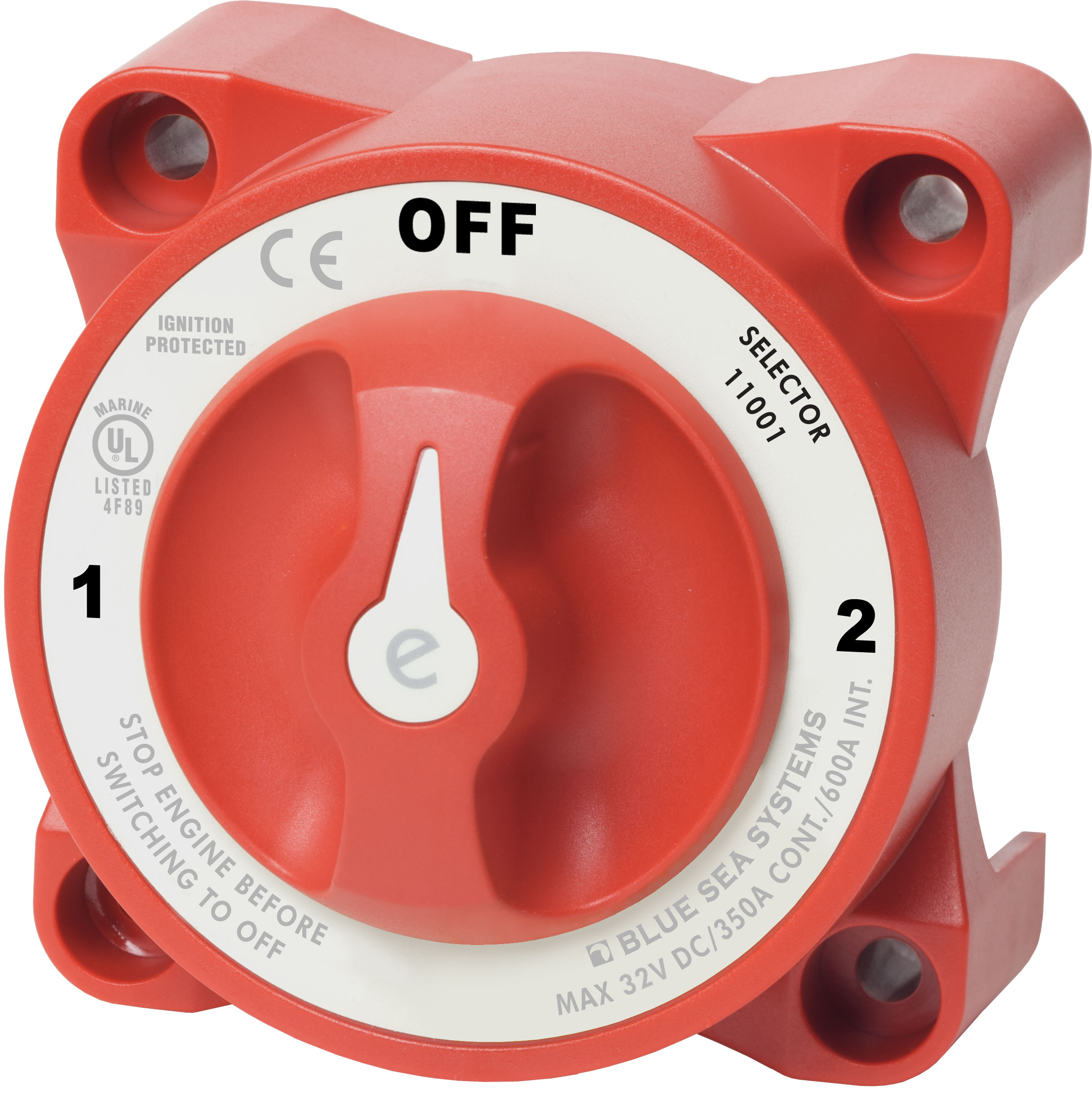 E Series Selector 3 Position Battery Switch With Afd