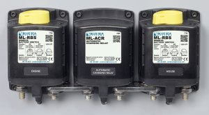 MLACR Automatic Charging Relay with Manual Control  12V
