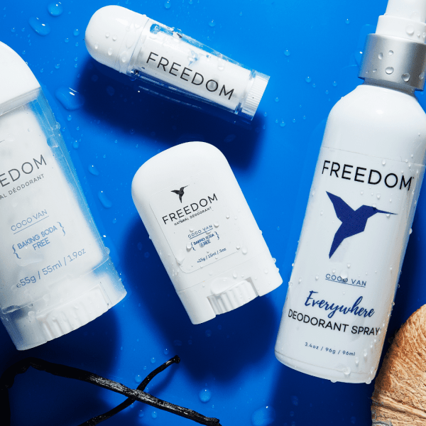 freedom natural product line