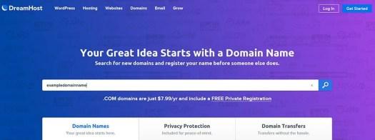 A domain name search tool.